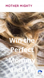 Mother Mighty – Perfect Mommy And Me Cozy Kit – Win value of $1573) Prizes include 01.