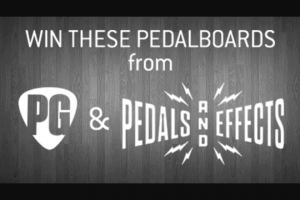 Premier Guitar – Pedals And Effects Giveaway Sweepstakes