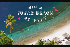 Sugarfina – Love Lotto Sugar Beach Retreat – Win 1.
