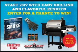 Workman Publishing – Barbecue Bible Start 2019 With Easy Grilling And Flavorful Results – Win one (1) copy of Project Smoke by Steven Raichlen
