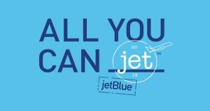 JetBlue Airways – All You Can Jet – Win 1 of 3 prizes of a JetBlue All You Can Jet Pass valid for unlimited air travel for 1 Year valued at $20,000 each
