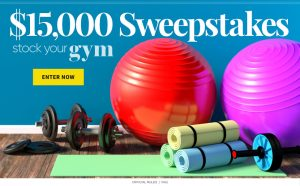Meredith – Shape – Win a $15,000 check to Stock Your Gym
