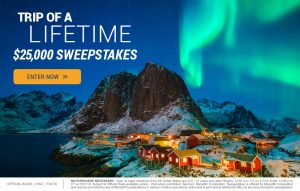 Travel & Leisure -Win a $25,000 check for trip of a lifetime