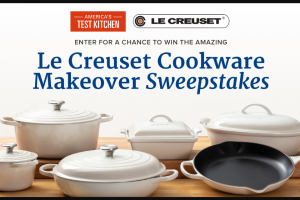 America's Test Kitchen – Le Creuset Cookware Makeover Sweepstakes