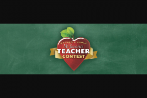 Barnes & Noble – My Favorite Teacher Contest – Limited Entry – Win a $100 Barnes & Noble gift card