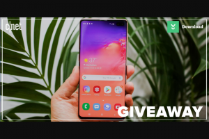 CNET – Next Galaxy Giveaway – Win of one 2019 Galaxy unlocked phone and one Android MWC 2019 pin collection