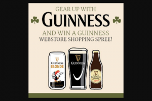 Diageo Beer Company – Guinness St Patty's Day Sweepstakes