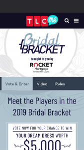 "Discovery Communications – TLC's Bridal Bracket – Win the following (the ""Grand Prize"") a $5000 Kleinfeld Bridal gift card"