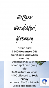 Dollar Flight Club – Wellness Wanderlust Giveaway Sweepstakes