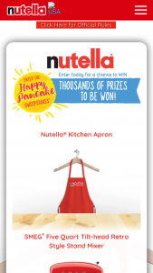 Ferrero USA – Nutella Happy Pancake Sweepstakes