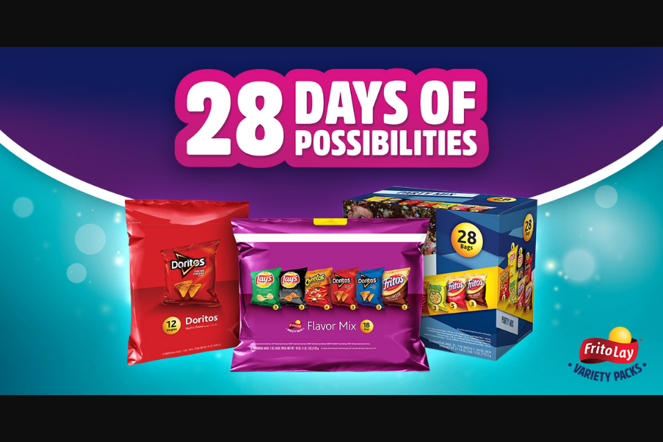 Frito-Lay – Variety Packs 28 Days Of Possibilities – W