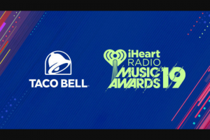 Iheart – Taco Bell Best Fan Army Sweepstakes