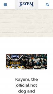 Kayem Foods – Day With The Bruins Giveaway Sweepstakes