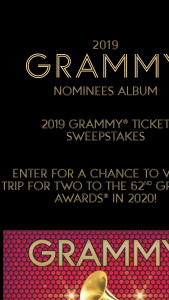 Republic Records – 2019 Grammy Ticket – Win a T-shirt