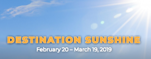Associated Wholesale Grocers – Destination: Sunshine – Win 1 of 8 grand prizes of a trip for 4 valued at $3,500 each plus a $250 gift card OR 1 of 2,940 minor prizes of a $50 grocery certificate each