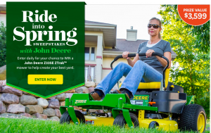 Better Homes & Gardens – Ride into Spring – Win a prize package valued at $3,599