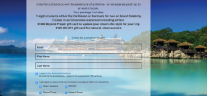 Beyond Proper – Off to Paradise Cruise – Win a 7-night cruise for 2 onboard Celebrity Cruises valued at $3,500