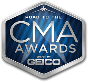 CMA – #CMAawardsxGEICO – Road to the CMA Awards Driven by GEICO – Win a trip for 2 to Nashville valued at $3,500