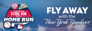 Church & Dwight – New York Yankees Flyaway – Win a grand prize of a trip for 4 to St. Petersburg, Florida valued at $4,400 OR 1 of 10 minor prize pack valued at $200 each