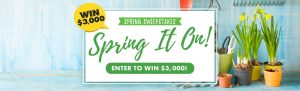 Churchill Mortage – Spring It On – Win $3,000