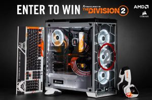 Corsair – Win a grand prize of Tom Clancy's The Division 2 PC OR 1 of 2 minor prizes