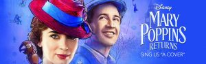 Disney Online – Sing US 'A Cover': Mary Poppins Returns – Win a grand prize of a trip for 4 for 3 days to Hollywood, CA to visit and tour Walt Disney Studios Lot valued at $4,280 OR 1 of 4 minor prizes