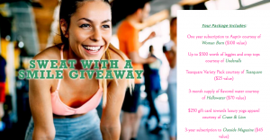 DojoMojo – Sweat with a Smile – Win a prize package valued at $990