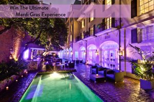 Domino – Ultimate Mardi Gras Experience – Win 4-night stay for 2 at Hotel Le Marais, drinks for 2 plus more (total value is $1,650)