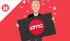 Ellen Tube – Win a $150 AMC gift card