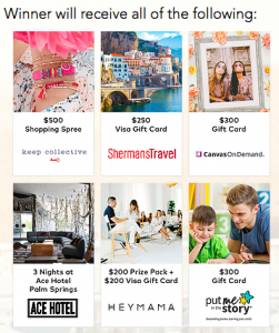 FindKeep.Love – Palm Springs Getaway – Win a grand prize package valued at valued at $2,700