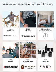 FindKeep.Love – Win a Finer Things prize pack valued at $2,000