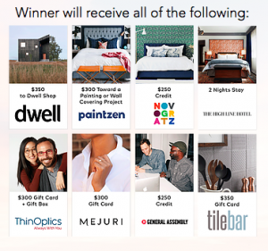 FindKeep.Love – Win a Modern Living prize pack valued at $3,000