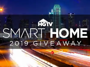 HGTV – Smart Home 2019 – Win a house located in Roanok