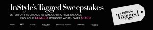InStyle – Tagged Spring 2019 – Win a grand prize package valued at $1,325