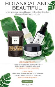 Interactive Wellness Group – Win a grand prize package of 17 products valued at $607 OR 1 of 2 minor prizes of 5 products each