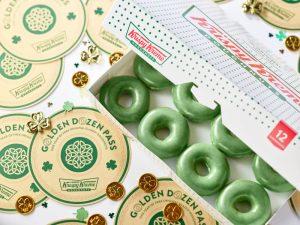 Krispy Kreme – Golden Dozen Pass – Win a dozen Krispy Kreme Original Glazed doughnuts per month for one year