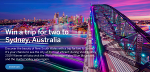 Lonely Planet – Win a trip for 2 to Sydney valued at $5,620