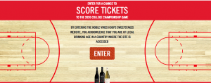 Noble Vines – King of the Court – Win a trip for 2 to Atlanta, Georgia for the 2020 College Basketball final game valued at up to $8,000