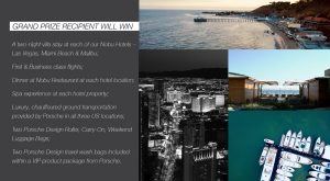 Nobu Hotels – Live the Dream Getaway – Win a prizes package valued at up to US$100,000