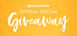 Pacific Cycle – Schwinn Spring Break – Win a prize package valued at $1,116