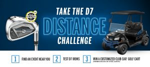 Wilson Sporting Goods – Staff D7 Challenge – Win a Club Car golf cart valued at $10,000 USD