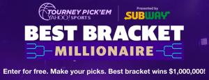 Yahoo Sports – Best Bracket Millionaire – Win $1,000,000