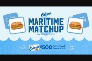 Culver's – Maritime Matchup – Win Random Drawing).