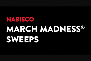 Mondelez Global – Nabisco March Madness – Win two (2) to Atlanta GA to attend the 2020 NCAA® March Madness® Men's Final Four
