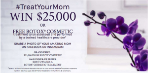 Allergan – Win a grand prize of $25,000 OR 1 of 500 minor prizes