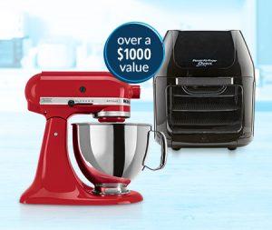 Bluestem Brands – Win 1 of 3 Kitchen bundles valued at $1,050 each