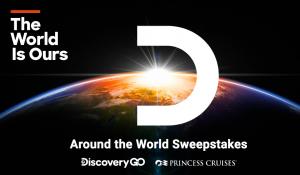 Discovery Communications – Around the World – Win a trip for 2 & 2 tickets aboard various Princess Cruise Line ships for a 49-day trip around the world (total prize value is $31,000)