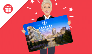 Ellen Tube – Win accommodation for 2 nights at Caesars Palace Las Vegas