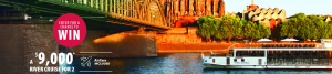 Expedia CruiseShipCenters – Win a 7-night cruise for 2