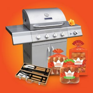 Food Network Magazine – Win a grand prize of a BBQ prize package OR 1 of 5 minor prizes